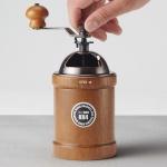 [빈플러스] 세라믹날 원목 커피 핸드밀 KH4+청소솔증정