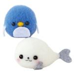 하마나카 바다표범과 펭귄 키트 양모펠트