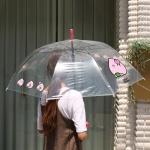 핑크풋 6000당친투명우산(3p세트)