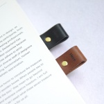LOG Leather Bookmark 2P Set 천연가죽 북마크