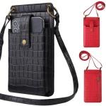 갤럭시 아이폰/가죽 스트랩 케이스 크로스백 미니가방