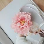 브라이덜샤워 꽃팔찌-피오니