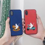 아이폰8 눌눌 고양이 카드케이스