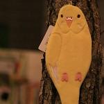 코토리콜렉션(펜파우치) - 사랑앵무(옐로) (필통)