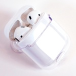 갓샵 에어팟 투명 하드 케이스 1세대 2세대 겸용 case