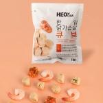 [허닭] 닭가슴살 한입 큐브 새우살사 100g