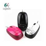logitech 로지텍 USB 유선 마우스 M105 / 최고의 그립감 / 부드러운 커서 제어
