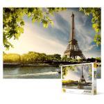 1000피스 직소퍼즐 - 낭만을 간직한 건축물 에펠탑
