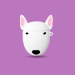 에어팟케이스/2세대/불테리어 강아지 고리 캐릭터 356