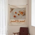 포토 행잉 패브릭 포스터_sweet to sweet 01