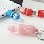 스노우볼 USB메모리 32GB 3종 - 핑크, 블루, 레드