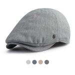 [디꾸보]린넨 6패널 헌팅캡 뉴스보이 모자 HN712
