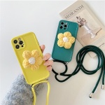 아이폰12 11 pro max xs 8 꽃 그립톡 스트랩 폰케이스