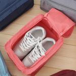 휴대용 신발 파우치 1개(색상랜덤)
