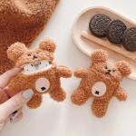 에어팟 케이스 1/2 뽀글이 테디 곰 인형 케이스/433