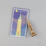 우드썸-엠파이어빌딩 랜드마크 원목 입체퍼즐