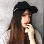 문문 여성 레터링 얼굴소멸 볼캡 연예인모자