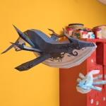 [톰텐] 페이퍼크래프트 고래의 비행(카이)