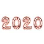 알파벳은박풍선세트 (2020) 로즈골드