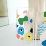 BFMA 젤리 폰케이스-시그니쳐 패턴 (아이폰갤럭시LG)