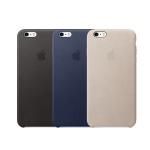 애플 iPhone 6s 플러스 정품 가죽 케이스