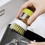 세제펌프 수세미 브러쉬/주방 싱크 욕실 청소 세척솔