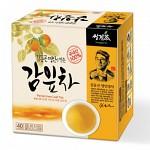 쌍계명차 감잎의 비타민C 김동곤명인 감잎차 40티백