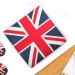 영국 유니온잭 면 메모리폼 방석 40x40