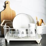 싱크대 식기 설거지 컵 접시 그릇 정리대 건조대