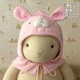 [DIY]따뜻한 겨울 토끼 후드 만들기