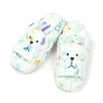 크래프트홀릭 BOTANICAL SLOTH OPEN SLIPPER