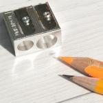 메탈TwoHole까렌다쉬마그네슘더블연필깎이476.002