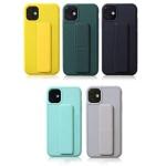 아이폰11 PRO MAX 핸드 스트랩 브래킷 실리콘 케이스