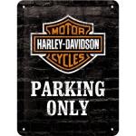 노스텔직아트[26117] Harley-Davidson Parking Only