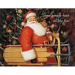 크리스마스 카드- Sled From Santa