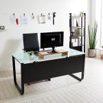 스틸뷰 1500 책상+의자세트  각진프레임