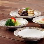 일본식기 내추럴카페 접시 11cm