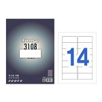 폼텍 주소용 라벨/LS-3108