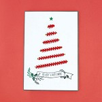 빨강리본트리 (크리스마스카드)