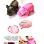 강아지 애견 간식 소리 장난감 인형 펫 돼지x8개
