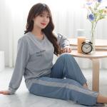테라우드 여성용 파인베어 긴팔 잠옷 상하세트