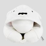 포켓몬 후드 목쿠션 목베개-흰둥이