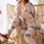 야자수잎 파자마 여성잠옷 세트 CH1506954