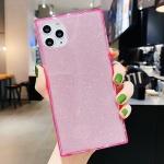 아이폰XR XS MAX 글리터 형광 네온 젤리 사각 케이스