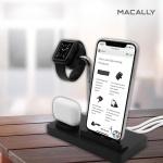 아이폰 애플 워치 3 4 5 6세대 3-IN-1 거치대 스탠드