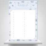 심플 버킷리스트 - 감성기록 폼보드 액자