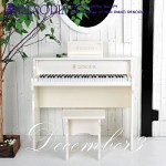 [RENOPIA] December III White /디셈버/레노피아/피아노/어린이피아노/장난감피아노/디지털피아노