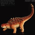 [리보]REBOR/안킬로사우루스 WAR PIG 플레인