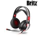 브리츠 프로 게이밍 헤드셋 K150GH (50mm 네오디뮴 유닛 / 캐릭터 LED / 가죽 헤드밴드)