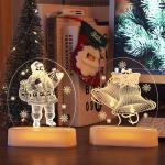 인블룸 크리스마스 3D조명 LED 탁상형 9종 택1